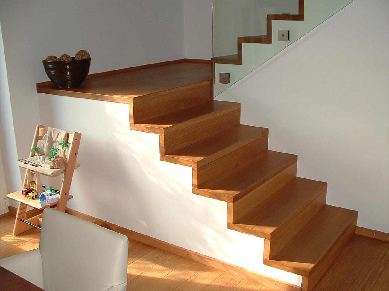 Stilvolle Treppen Mit Schreinerei